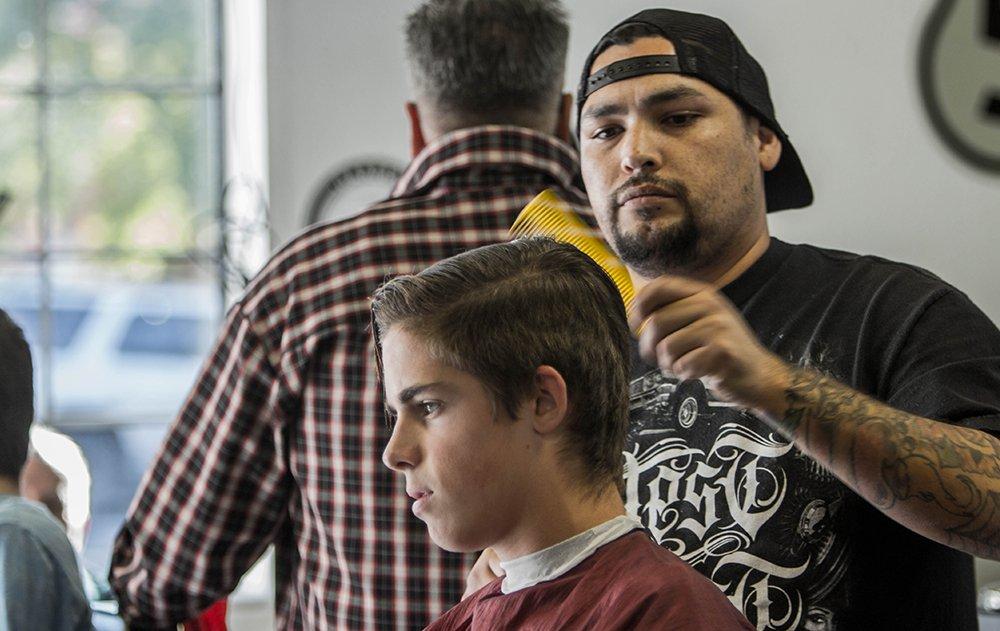 Barber Jon's Grand Openin El Dorado Hills